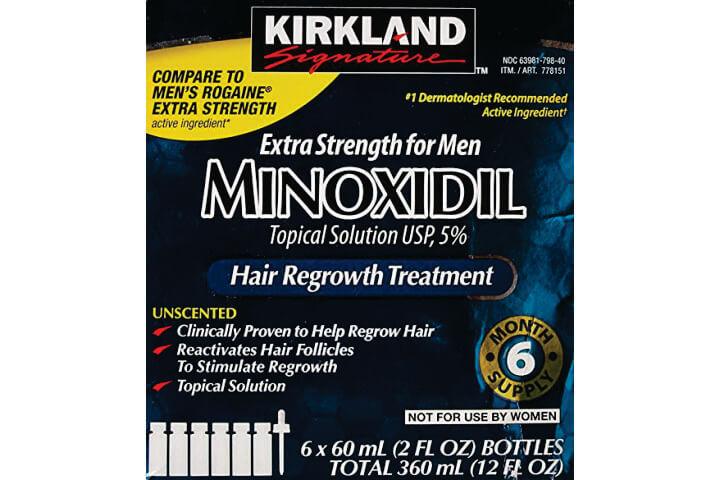 Minoxidil 6 meses Tratamento